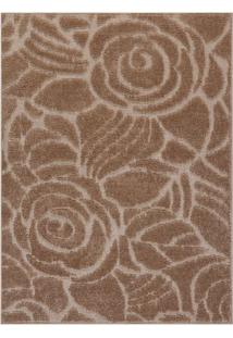 Tapete Jazz Floral- Bege & Bege Claro- 150X100Cmoasis