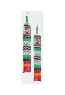Brinco Yawanawa Tropicaleza - Multicolorido - U