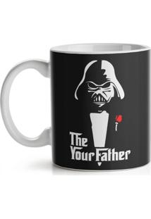 Caneca Geek Side - The Your Father Geek10 Preto