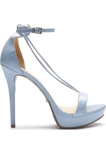 Sandália Thin Strap Stiletto Jeans | Schutz