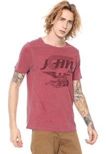 Camiseta John John Angel Ride Vermelha