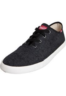 Tênis Coca Cola Shoes Wake Preto