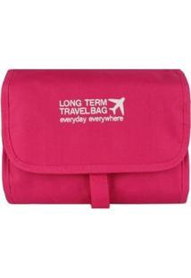 Necessaire Stradda Organizadora Travel Bag - Unissex-Pink