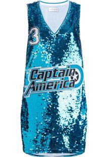 Faith Connexion Blusa Captain America - Azul