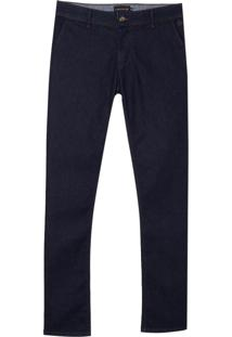 Calca Dudalina Jeans Stretch Masculina (P19/V19/O19 Jeans Escuro, 50)
