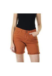 Bermuda Jeans Sarja Feminina