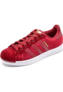 999368f95 ... Tênis Adidas Originals Superstar W Vermelho
