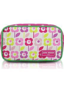 Necessaire Estojo Infantil Flor Jacki Design Sapeka Pink