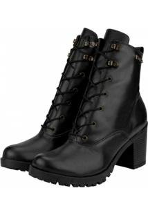Bota Barth Shoes Wind Feminina - Feminino-Preto