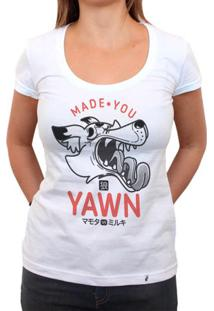 Made You Yawn - Camiseta Clássica Feminina
