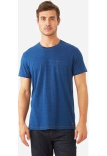 T-Shirt Foxton Indigo Classica Masculina - Masculino