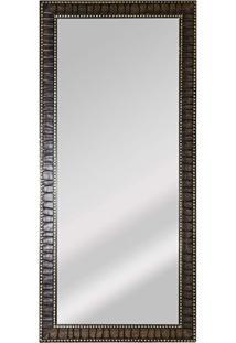 Espelho De Parede Retangular Safira 90 94X44Cm Tabaco