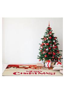 Tapete De Natal Para Sala Animais Natalinos Único