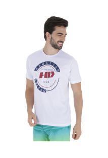 Camiseta Hd Estampada New Basic - Masculina - Branco