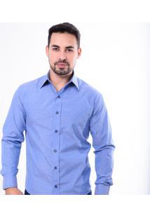 Camisa Pazan Slim Fit Azul Celeste