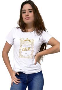 Camiseta Feminina Cellos Retro Frame Premium Branco - Kanui