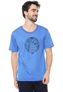 Camiseta Masculina Eco Canyon Mundi Azul