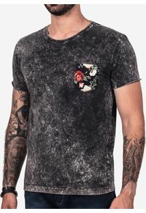 Camiseta Hermoso Compadre Marmorizada Masculina - Masculino