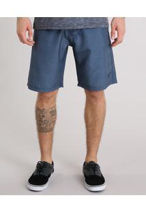 Bermuda Surf Masculina Com Bolsos Azul Marinho