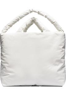 Kassl Editions Bolsa Tote Oli Grande - Branco