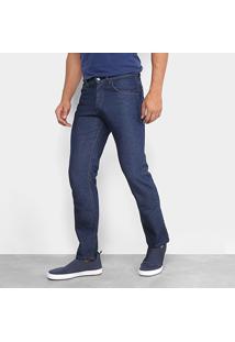 Calça Jeans Reta Rockblue Lavagem Tradicional Masculina - Masculino