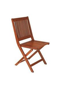 Cadeira Dobravel Tramontina Fitt Madeira Jatobá Jatoba