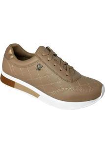 a57c3f5a2 Ir para a loja; Tênis Jogging Via Marte Flatform Com Matelassê Feminino -  Feminino-Bege