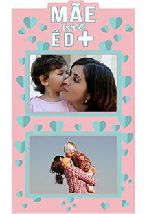 Painel Foto Mdf Recortado Para 2 Fotos, Kapos, Multicolorido, 20X35 Cm