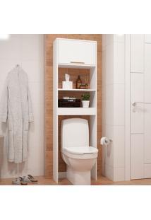 Armário Para Banheiro Bbn 10 - Brv - Branco