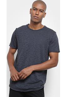 Camiseta Long Island Alongada Masculina - Masculino