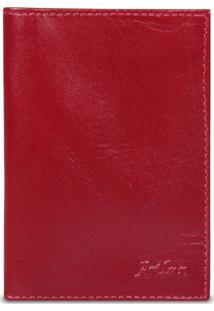 Carteira Artlux Porta Documento De Carro Vermelho