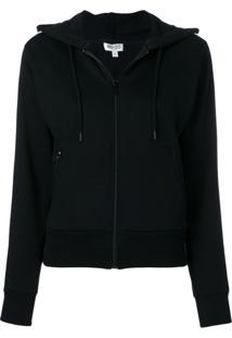 Kenzo Zipped Hooded Jacket - Preto