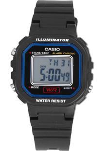 Relógio Casio La-20Wh-1Cdf Preto - Kanui