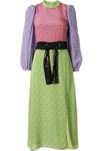 Olivia Rubin Vestido Seraphina Com Estampa - Verde