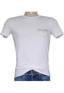 Camiseta Masc Cavalera Clothing 01.01.7217 Branco
