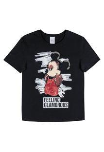 Blusa Feminina Minnie Glamour Cativa