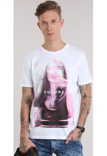 """Camiseta """"Future"""" Branca"""