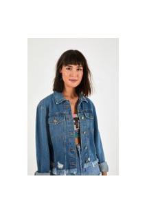 Jaqueta Desfiada Refarm Jeans