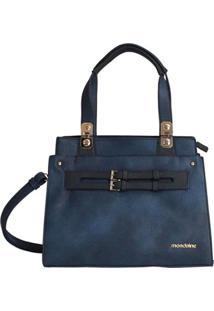 Bolsa Mondaine - Feminino-Azul
