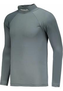 Camisa Térmica Reusch Underjersey Gola Alta Manga Longa - Masculino