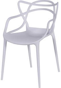 Cadeira De Jantar Solna Or Design Branco - Branco - Dafiti