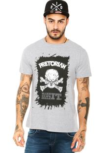 Camiseta Pretorian Break It Cinza