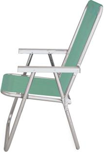 Cadeira Alta Conforto Alumínio Sannet Anis