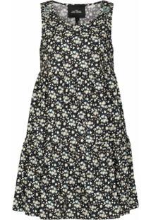 Marc Jacobs Vestido Liberty Com Estampa Floral - Preto