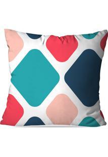 Capa De Almofada Avulsa Decorativa Geométrico Color 35X35 - Kanui
