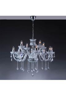 Lustre Nice 12 Lâmpadas - 480W - Startec - Transparente