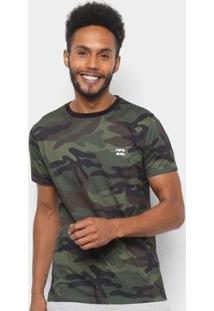 Camiseta Billabong Camo Masculina - Masculino