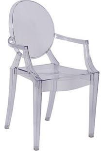 Kit 2 Cadeiras Ghost Em Policarbonato Transparente