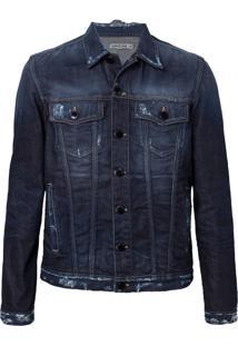 Jaqueta John John Turim Jeans Azul Masculina (Jeans Escuro, P)