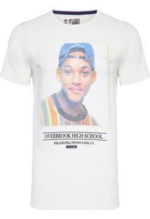 Camiseta Masculina School Life - Off White